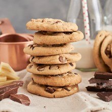 Otis Spunkmeyer® Triple Chocolate Chunk Cookie Dough 1956