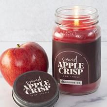 Spiced Apple Crisp Jar Candle 5480