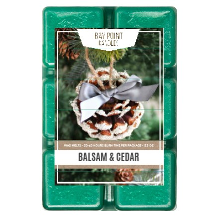 Balsam & Cedar Wax Melts 9302