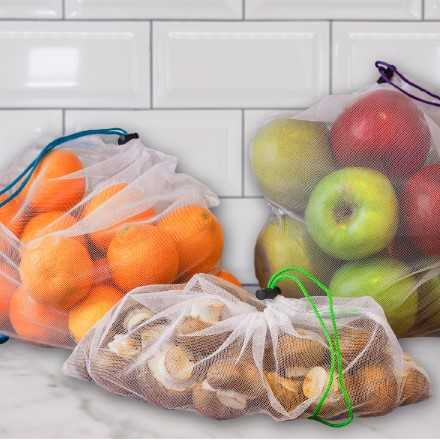 Reusable Grocery Produce Bags S/6 2702