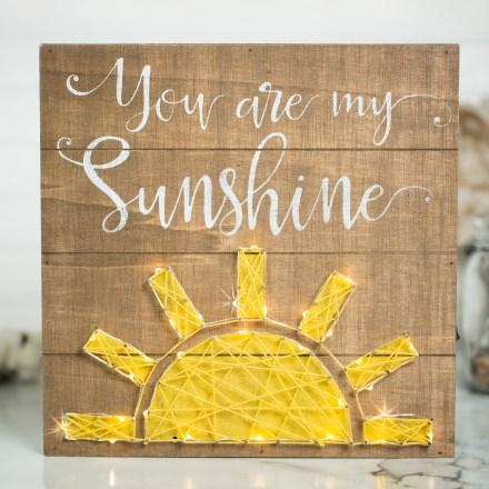 You Are My Sunshine Light Up Wall Decor 2534