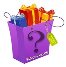 Mystery All Occasion Gift - $30 + Value 8777