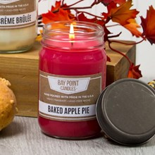 Baked Apple Pie Mason Jar Candle 9366