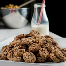 Chocolate Chip Mini Pre-Baked Cookies 4401