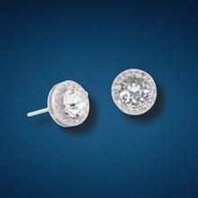 Crystal Encrusted Earrings 5862