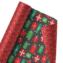 Gleeful Gifts Galore Reversible Wrap 1347