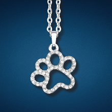 Sparkle Paw Necklace 5884