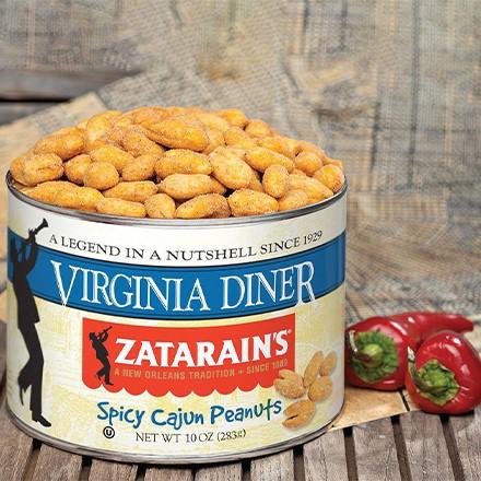 Spicy Cajun Virginia Peanuts 5828