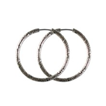 Textured Hoop Earrings 2742