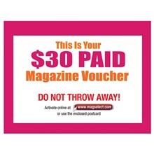 $30 Magazine Voucher 8830