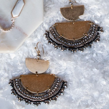 Half Moon Earrings 2716