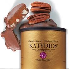 Katydids Pecan Caramel Clusters Tin 5729