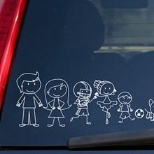 Family Window Sticker Set 4464