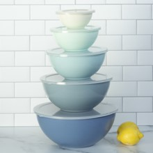 Blue Ombre Mixing Bowls S/10 3554