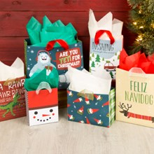 Silly Holiday Bags - Set Of 6 1601