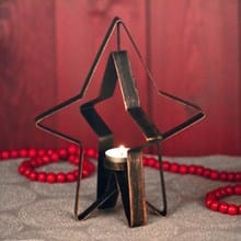 Star Candle Holder 3369
