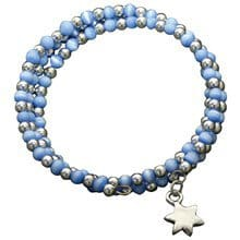 Star of David Wrap Bracelet 7885
