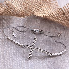 Sideways Cross Bracelet 2724