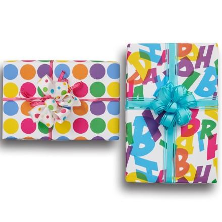 Happy Birthday Reversible Wrap 1788