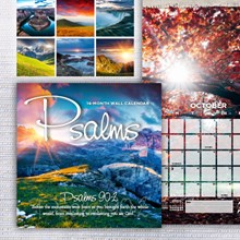 Psalms Wall Calendar 4044