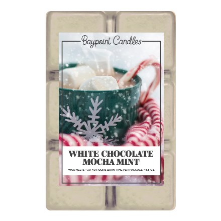 White Chocolate Mocha Mint Wax Melts 9348