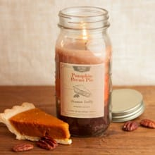 Pumpkin Pecan Pie Mason Jar Candle 5500