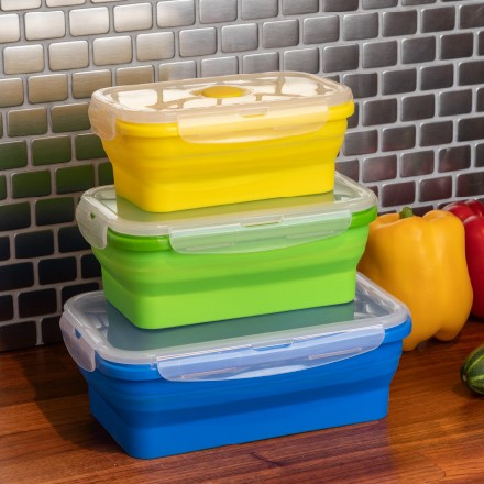 Collapsible Storage Containers S/3 2365
