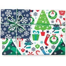 Christmas Galore & Snowflakes Reversible 1329