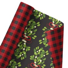 Merry Mistletoe Reversible Wrap 1326