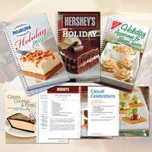 Hershey®'s-Philadelphia®-Nabisco® Cookbooks Set 6904