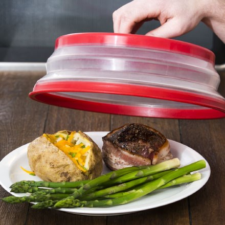 Collapsible Microwave Plate Cover 7222