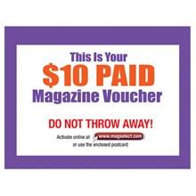 $10 Magazine Voucher 8810