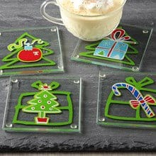 Holiday Coasters S/4 3368