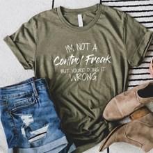 Control Freak T-Shirt - Adult 3XL 3022