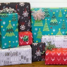 Holiday Flat Wrap 50 sq ft 2071