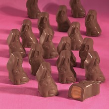 Milk Chocolate Caramel Bunnies 5323