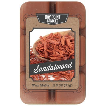 Sandalwood Wax Melts S/2 5611