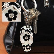 Flip-Flop Jeweled Keychain 3612