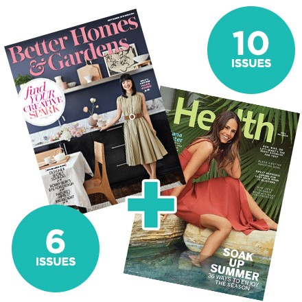 Better Homes & Gardens & Health NCJ89