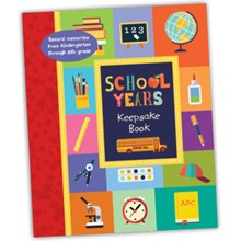 School Memories Keepsake Book 2501