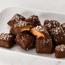 Dark Chocolate Sea Salt Caramels 5672