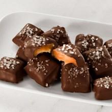Dark Chocolate Sea Salt Caramels 5672