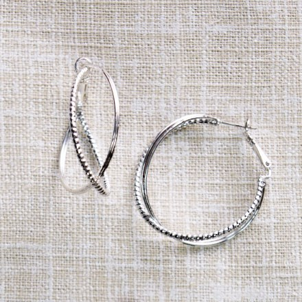 Double Hoop Earrings 2623