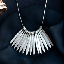 Dramatic Fringe Necklace 2775