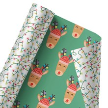 Rudolph Reversible Wrap 1392
