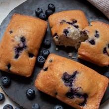 Otis Spunkmeyer Ready-to-Eat Mini Muffin Blueberry Loaves 8PK 1102