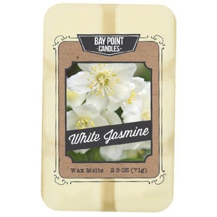 White Jasmine Wax Melts S/2  5560