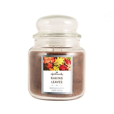 Hallmark® Raking Leaves 15 oz. Jar Candle 9399