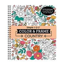 Color & Frame Coloring Book 5764
