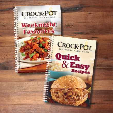 Crock-Pot® Cookbooks S/2 8004